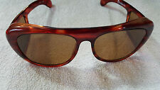 Vintage Sunglasses Fish And Sport Glass Brown 009 Made in Korea
