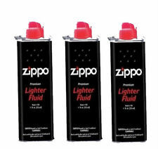 10 x Genuine Zippo Zighter Petrol Fluid Fuel 125ml Refil Pemium