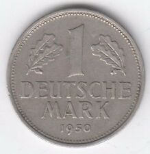 Germany 1950 J 1 mark coin