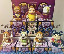 "Vinylmation 3"" Beauty and the Beast series 2, Set of 7 (Without Chaser)"