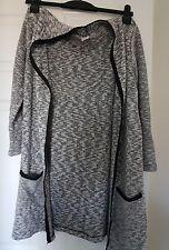 Cardigan saint tropez, utilisé, l, gris
