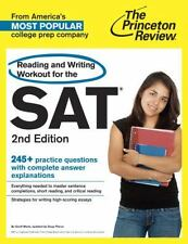Reading and Writing Workout for the SAT, 2nd Edition by Princeton Review...