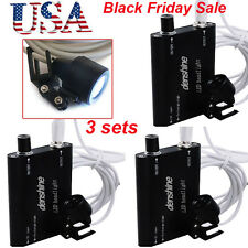 3PCS Dental LED Head Light Lamp for dentist Surgical Loupes Portable USPS ship