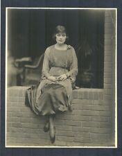 GREAT CUSTOM PHOTO OF THEDA BARA - N MINT COND - DBLWT MATTE - HOOVER ART CO