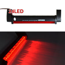 1Pc Car SUV Red 12V 24LED High Mount Third 3RD Brake Stop Tail Light Add-on Lamp