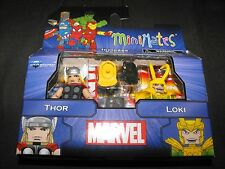 THOR and LOKI GREATEST HITS 1 MINIMATES FIGURES NEW SEALED L@@K