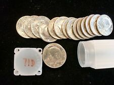 1971 D  KENNEDY HALF DOLLAR BU ROLL  SHIPS FOR FREE IN THE USA