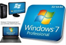 MS Windows 7 pro Professional 32/64 Bits OEM Product Key (win 7 pro) online
