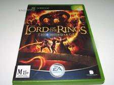 Lord of the Rings The Third Age Xbox Original PAL Preloved *No Manual*