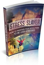 Stress Slayer  + 10 Free eBooks With Resell rights ( PDF )