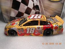 KYLE BUSCH #18 2016  M&M's RED NOSE DAY  KANSAS WIN   PAINT SCHEME  1/24