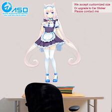 Anime Wall Sticker Neko Para Vanilla colorful home Art Vinyl Decal Decor sticker