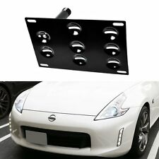 Front Bumper Tow Hook Hole Adapter License Plate Mouting Bracket For BMW Nissan