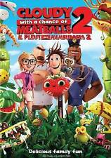 Cloudy With a Chance of Meatballs 2     (DVD + Digital HD, 2014)   Brand NEW