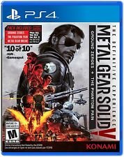 Konami CA PS4 Metal Gear Solid V: The Definitive Experience - Standard Edition