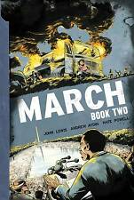 March Book 2 GN John Lewis Andrew Aydin Nate Powell Civil Rights New NM