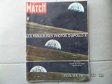 PARIS MATCH N°1049 14/06/1969 Apollo X Merckx Lignere  I100
