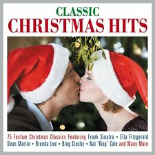 Classic Christmas Hits VARIOUS ARTISTS Best Of 75 Holiday Songs MUSIC New 3 CD