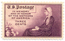 """US Scott #738 Mothers Day """"Whistler's Mother"""" Perf 11x10  MNH ***FREE SHIP***"""