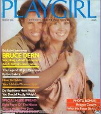 PLAYGIRL 3-81 MARCH 1981 HAIRY UNCUT LECOCQ! MR NUDE USA JIM MORRISON BRUCE DERN