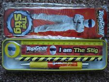 ++++NEW++++ TOP GEAR TURBO CHALLENGE 'THE STIG' STATIONERY SET IN TIN.