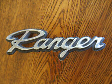 Original Chrysler Valiant VH VK Ranger car badge