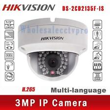 Hikvision DS-2CD2135F-IS 3MP Full HD Waterproof POE Dome CCTV Camera H.265