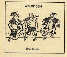 VINTAGE Football Print ABERDEEN - THE DONS.