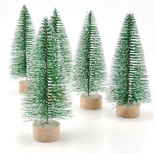 Xmas Mini Artificial Christmas Tree Festival Party Ornaments Decoration Gift 1pc