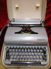 silvergray TORPEDO German Portable Manual Typewriter with Case  #3
