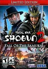 Total War: Shogun 2 -- Fall of the Samurai: Limited Edition (PC BRAND NEW SEALED