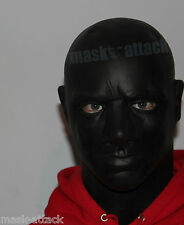 BLACK LATEX THICK RUBBER HOOD FULL HEAD COSPLAY FETISH DRESS GAS GIMP MALE MASK