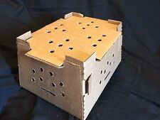 Chick Shipping Box w/ Excelsior Pad. Holds 25-75 Day Old Chicks New Design