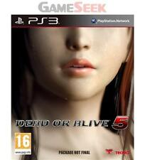 DEAD OR ALIVE 5 - PLAYSTATION PS3 BRAND NEW FREE DELIVERY