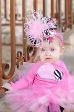 hot SELL Baby Feather Pad headband Bow flower hair band FASCINATOR Accessorie t6