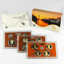 2014 United States US Mint 14pc Clad Proof Set (P16) SKU31348