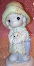 AN EVENT FOR ALL SEASONS  530158  Precious Moments Figurine  Raincoat Puppy Dog
