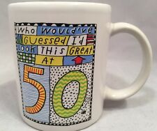Shoebox Mug Who Would've Guess I'd Look This Great at 50 Double Sided