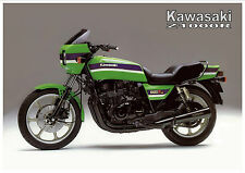 KAWASAKI Poster Z1000R KZ1000R Eddie Lawson Replica Suitable to Frame