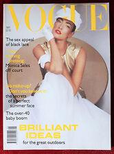 Vogue British ~ May 1992 ~ Tatjana Patitz Eva Herzigova