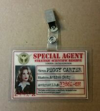 Agent Carter ID Badge -SSR Special Agent Peggy Carter cosplay prop costume photo