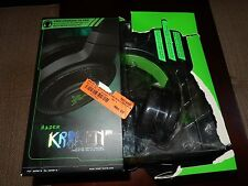 Razer Kraken Pro Black/Green Headband Headsets for PC (NEW IN BOX) (#M200)