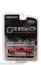 2015 FORD F-150 FIRE & RESCUE SPECIAL SERVICE VEHICLE 1/64 BY GREENLIGHT 29839