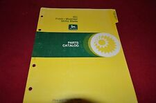John Deere 423 Front Mounted Utility Blade Dealer's Parts Book Manual MISC