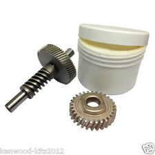 Kitchenaid Stand Mixer 6QT Worm Gear & Gear Follower With A Tub of Grease.