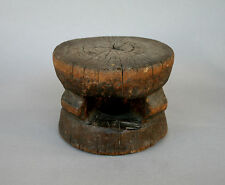 ANTIQUE AFRICAN STOOL TONGA GUINEA ZIMBABWE CAMEROON OKOU ? - PRIVATE COLLECTION