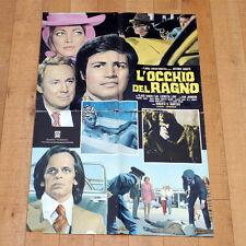 L'OCCHIO DEL RAGNO manifesto poster Klaus Kinski Antonio Sabato Van Johnson