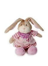 Baby Girl from New Born Pink Rabbit Soft Toy Cuddly Plush Toy Gift