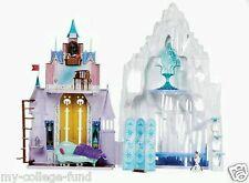 Disney Frozen Anna & Elsa 2 In 1 Castle & Ice Palace Playset NEW