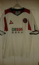 Camicia calcio da uomo-Sheffield United FC-AWAY 2003-04 - Le Coq Sportif - 38""